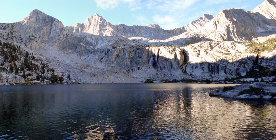 Photo of Lake 10315 in Kings Canyon Natioinal Park
