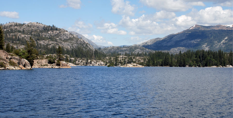 Photo of Lake Spaulding, Nevada County, CA