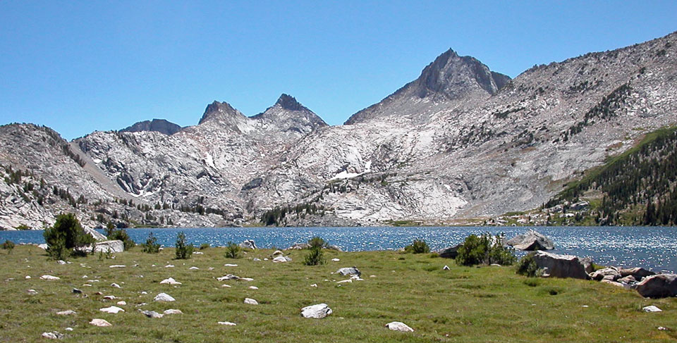 Photo of Rose Lake, John Muir Wilderness, CA