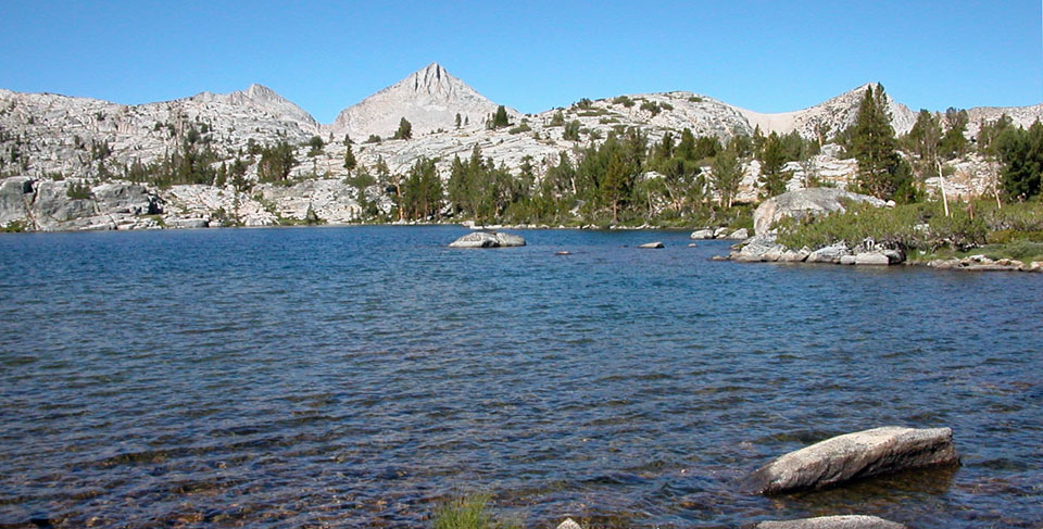 Sandpiper Lake, John Muir Wilderness, CA