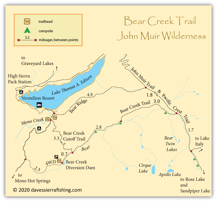 Bear creek trail map pictures to pin on pinterest pinsdaddy for Bear creek fishing